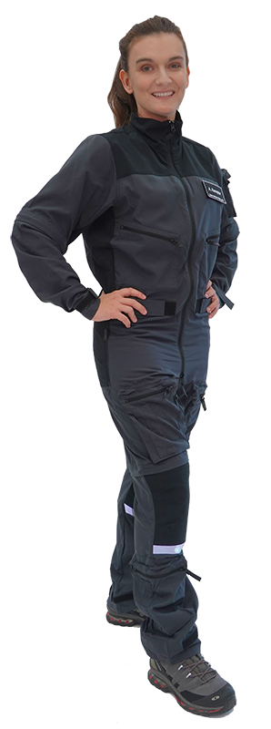 Air-Rescue Overall with Zip-Off Sleeves and Legs (long or short)