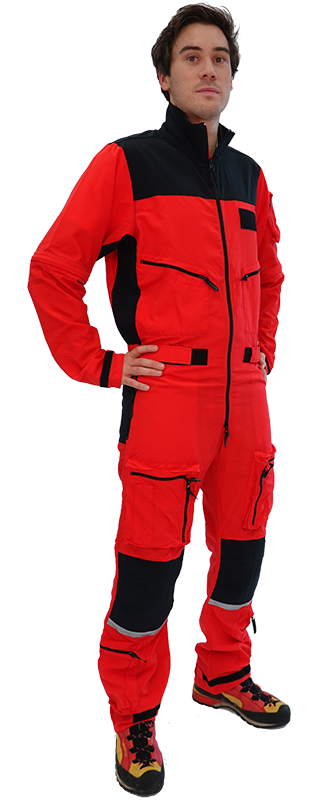 Air-Rescue Overall with Zip-Off Sleeves (long or short)